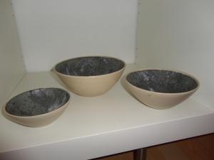 Skålesæt i keramik, Ilva.
