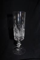 Champagneglas, krystal