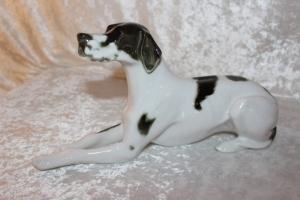 Grand Danoise Porcelænshund