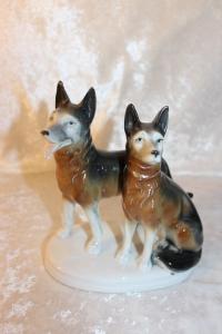 Schaeferhunde Porcelænsfigur