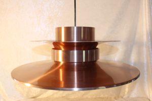 Retro Kobberlampe